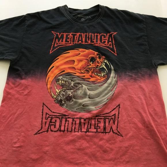 6c723f30dd Metallica Shirts | Tee Graphic Band T Shirt Xl Black Pink | Poshmark